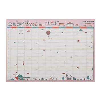Calendarios de Pared Calendarios de Escritorio 365 días Calendario ...