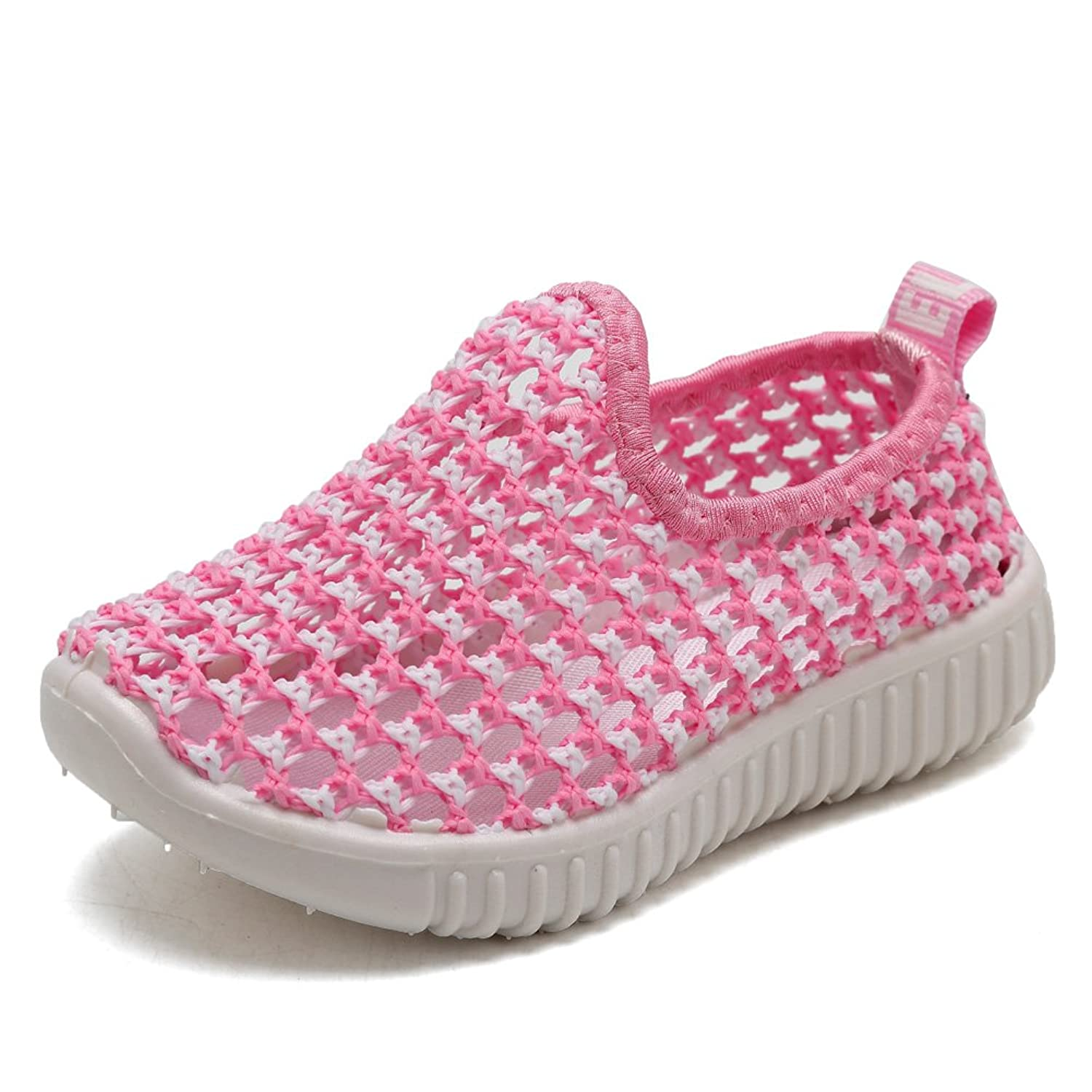 1c28ddbc8c6af3 EQUICK Kids Slip-on Casual Sneakers Breathable Water Shoes for Running Pool  Beach (Toddler