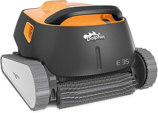 Dolphin E35 - Robot Aspirador de Piscina automático con Carro de ...