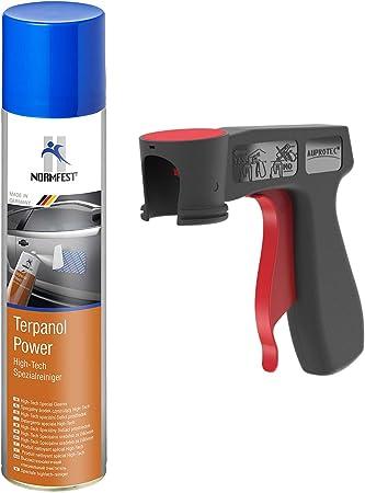 Auprotec High Tech Spezialreiniger Terpanol Power Spray 1x 400ml 1x Original Pistolengriff Auto