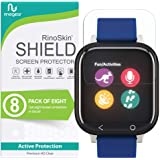 (8-Pack) RinoGear Screen Protector for Verizon GizmoWatch Case Friendly Verizon GizmoWatch Screen Protector Accessory…