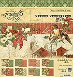 Graphic 45 Winter Wonderland 8x8 Paper Pad