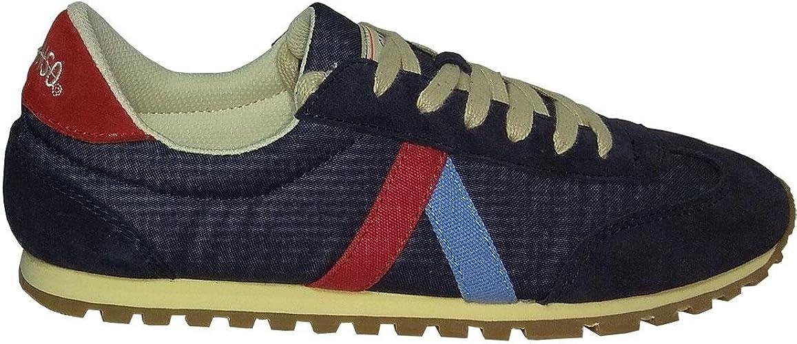 Zapatillas EL GANSO RWALKING Wash Marino 45: Amazon.es: Zapatos y ...