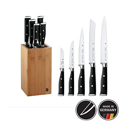 Amazon.com: Bloque de cuchillos WMF, 6 unidades Gran Clase ...