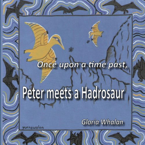 Once upon a time past, Peter meets a Hadrosaur for sale  Delivered anywhere in USA