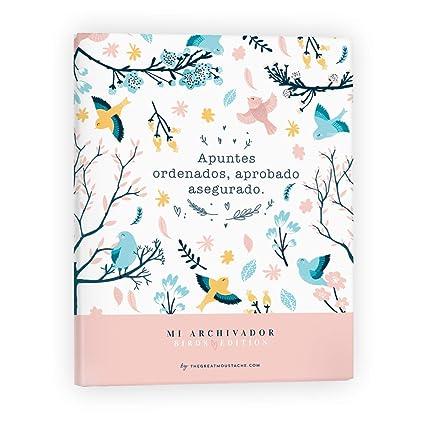 CARPETA ARCHIVADOR - BIRDS EDITION: Amazon.es: Oficina y ...