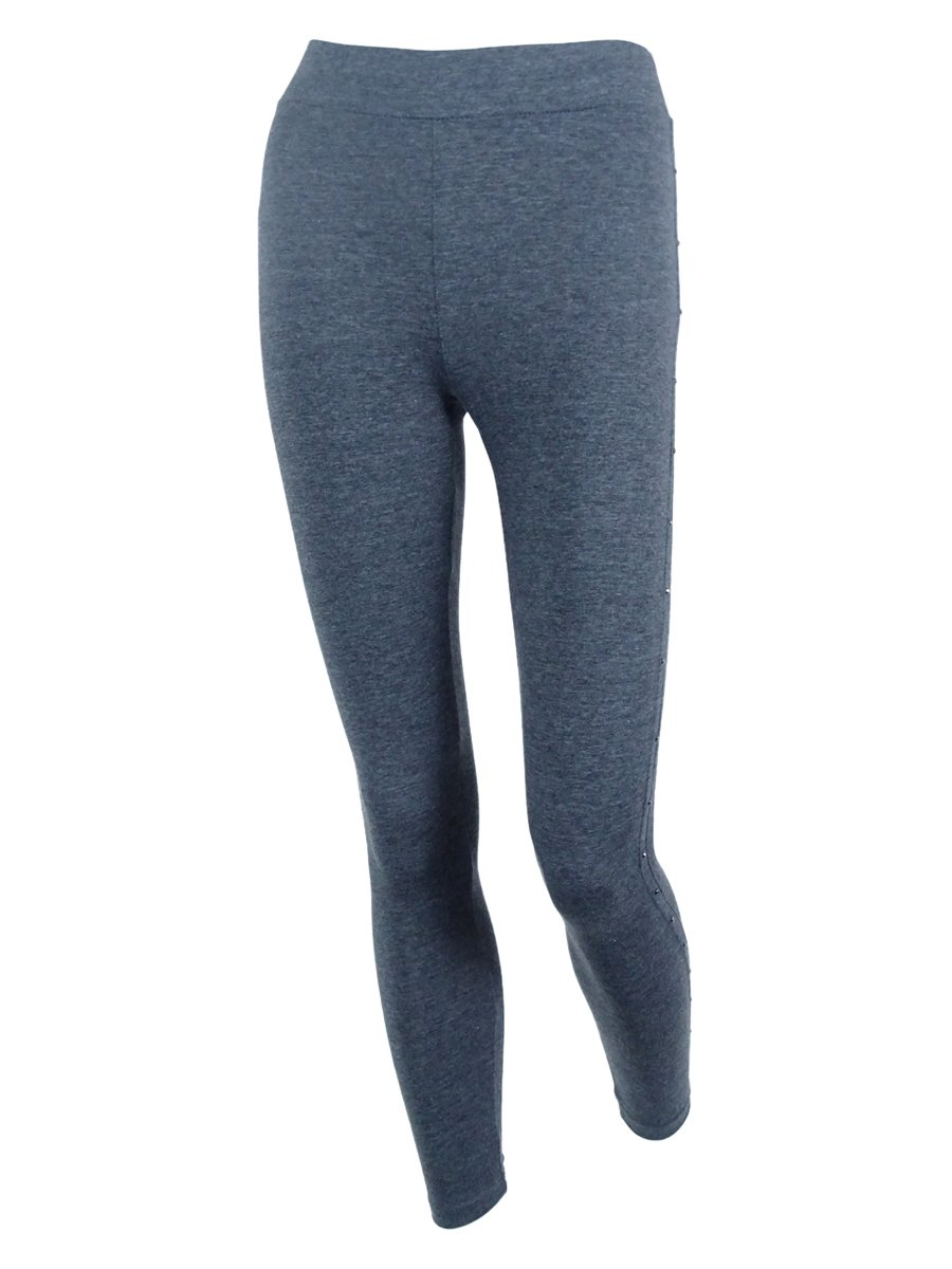 Style & Co. Women's Studded Leggings (P, Charcoal/Grey)