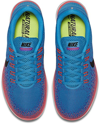 Nike Womens Free Rn Scarpe Da Corsa Blue Lagoon / Violeet Persiano