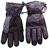 #5: N'Ice Caps Kids Thinsulate Waterproof Geo Lines Print Winter Ski Gloves