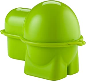 Hutzler Snack Container, one size, Egg To-Go, Green
