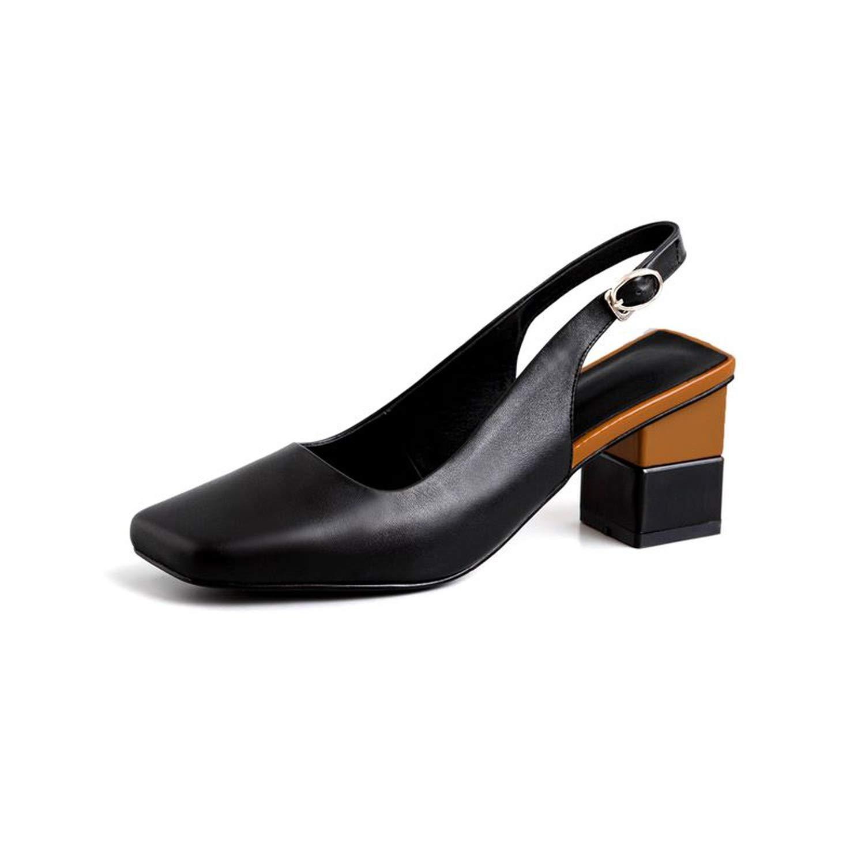 Black Heart to Hear Plus Size 34-42 Sandals Women shoes,