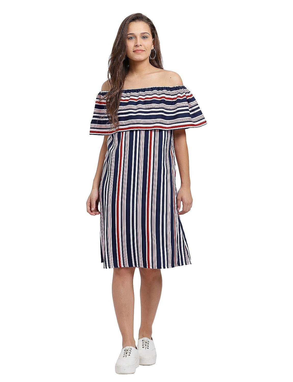 Trend Arrest Georgette Strapless Dress