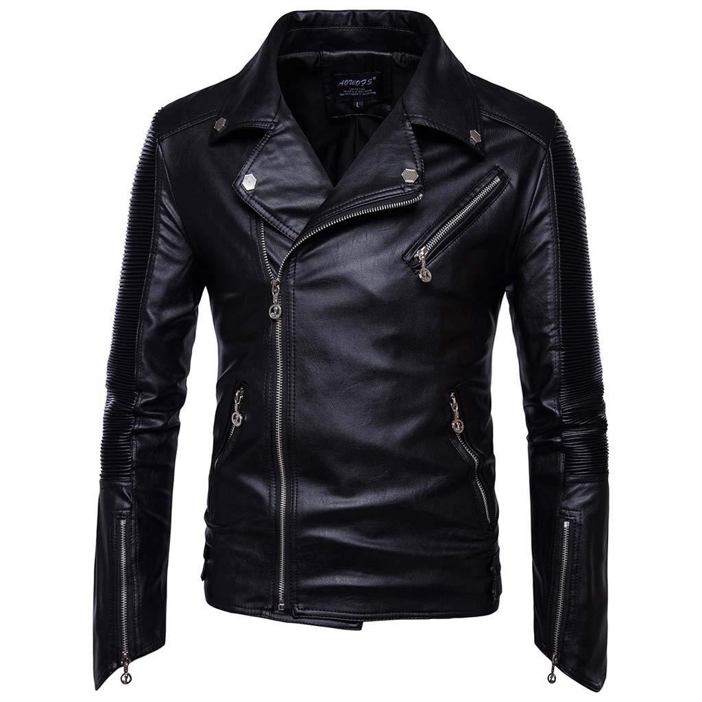 Famisamy  Men's Autumn Winter Button Solid Color Vintage Denim Jacket Tops Blouse Coat Outwear by Famisamy