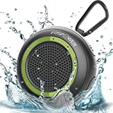 Waterproof Bluetooth Speaker IPX7, FosPower Outdoor Portable Shower Wireless Speakers with 10 HOURS Playtime, HD Audio, Enhanced Bass, Built-In Mic, Bluetooth 4.2, TWS Mode and TF Card Slot