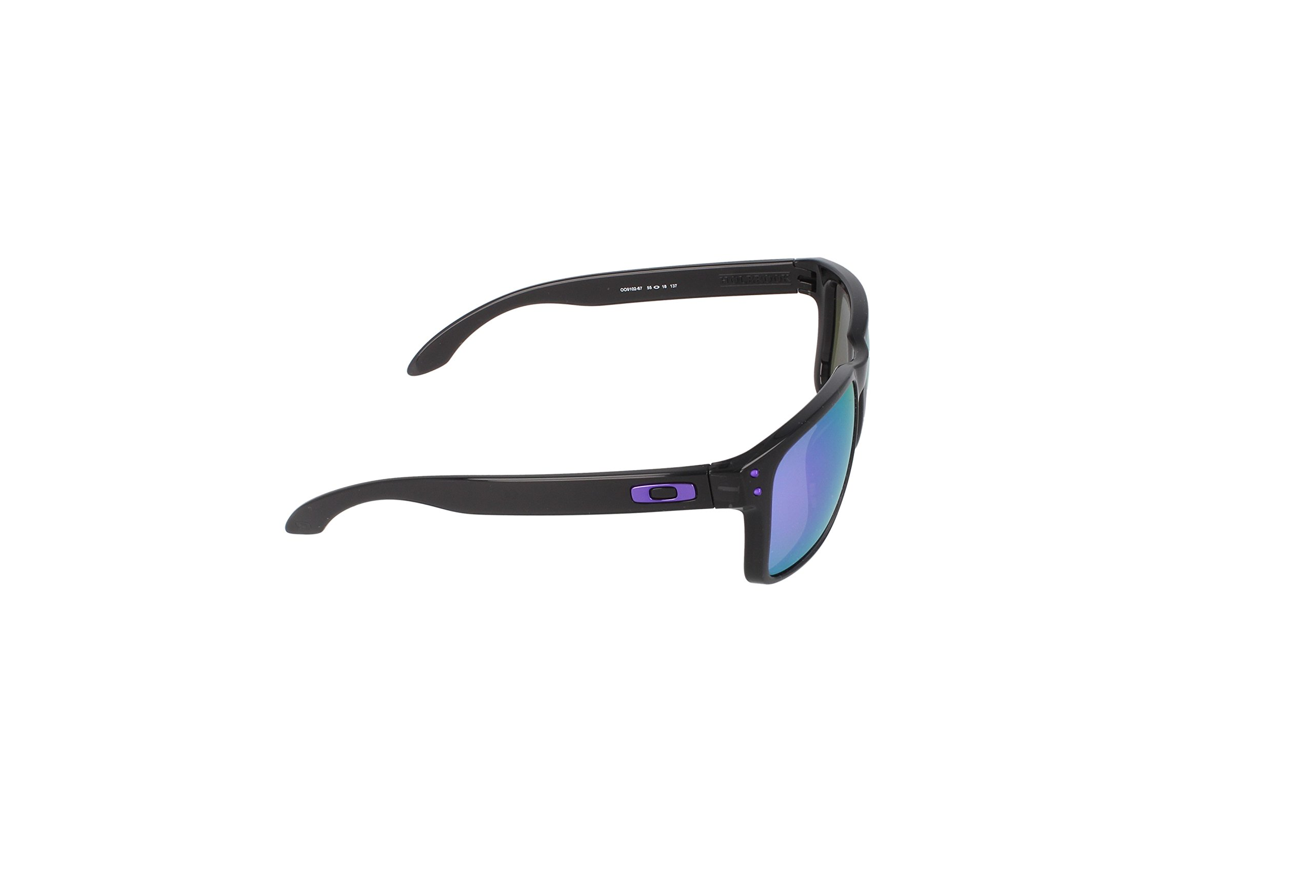 Oakley Holbrook Sunglasses,  Black, One Size by Oakley (Image #3)