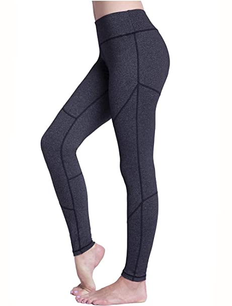 62d56badeaa68 Amazon.com: UURUN Women's Workout Leggings with Pockets High Waist ...