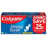 Colgate Strong Teeth Anticavity Toothpaste with Amino Shakti - 500gm Saver Pack