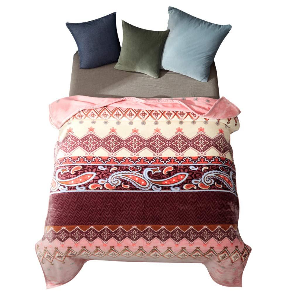 HSBAIS 寝具柔らかい毛布 小さい毛布キングサイズ - 暖かい冬毛布ラッシェル厚めの洗える休日ギフト暖かいシート毛布,color_200*230cm B07K76B327 color 200*230cm