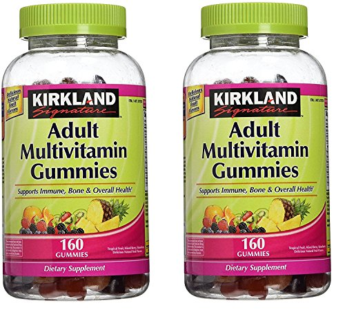 Kirkland Signature Adult Multi Gummies - 320 ct - 2 pk