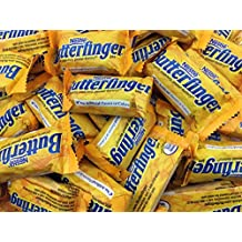 Butterfingers Candy, Nestle Butterfinger Snack Size Chocolate Bars, 2 LB Bulk Candy