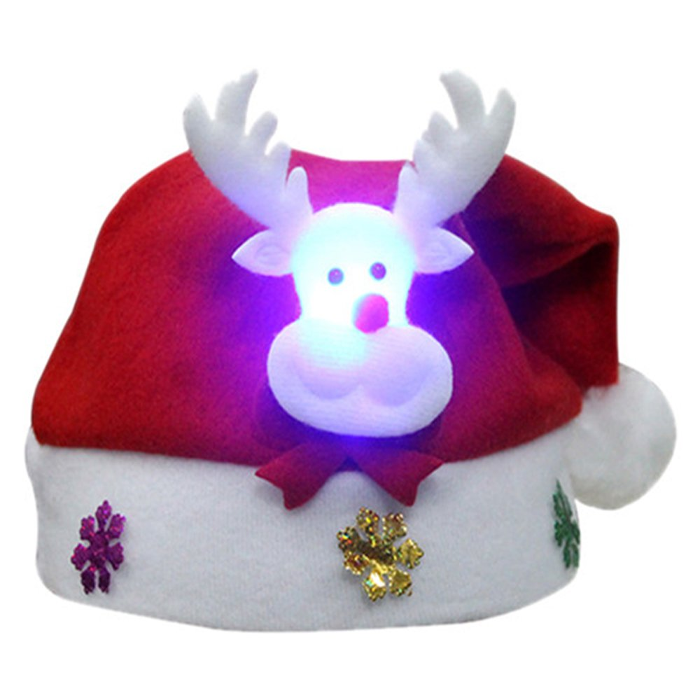 Eastlion Xmas Hat Party Favours Christmas Decor, Elk (Adult size)