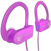TREBLAB XR100 Bluetooth Sport Headphones, Best Wireless Earbuds for Running Workout...