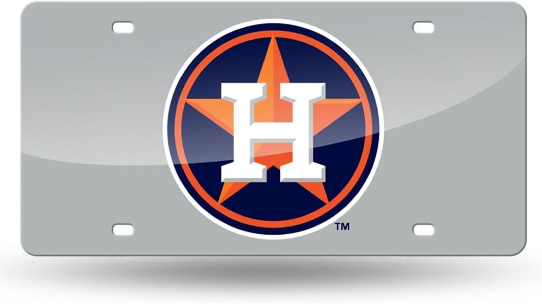 Rico MLB Washington Nationals Curly W Laser Cut License Plate