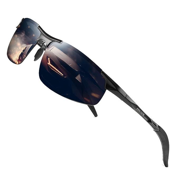 Amazon.com: PINCOUR PK3003 Gafas de sol polarizadas para ...