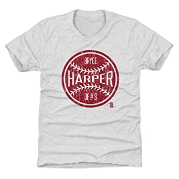 reputable site 672b4 34f10 Amazon.com : 500 LEVEL Bryce Harper Philadelphia Baseball ...