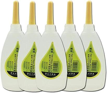 5PCS Aceite De Máquina De Coser Aceite De Afeitar Aceite ...