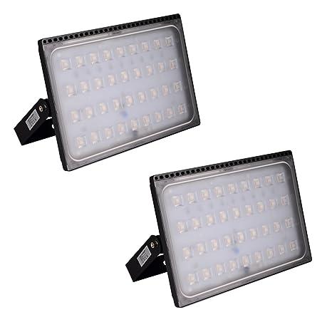 Foco proyector LED 200W para exteriores, luz de seguridad,IP65 ...