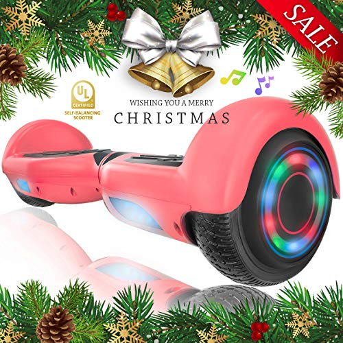 - XPRIT Hoverboard w/Bluetooth Speaker (Pink)