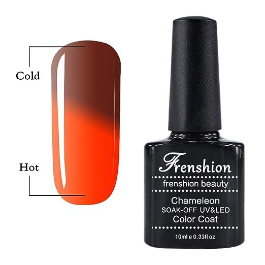 12 opinioni per Frenshion 10ML Smalto Semipermanente Camaleonte Gel Nail Polish UV LED