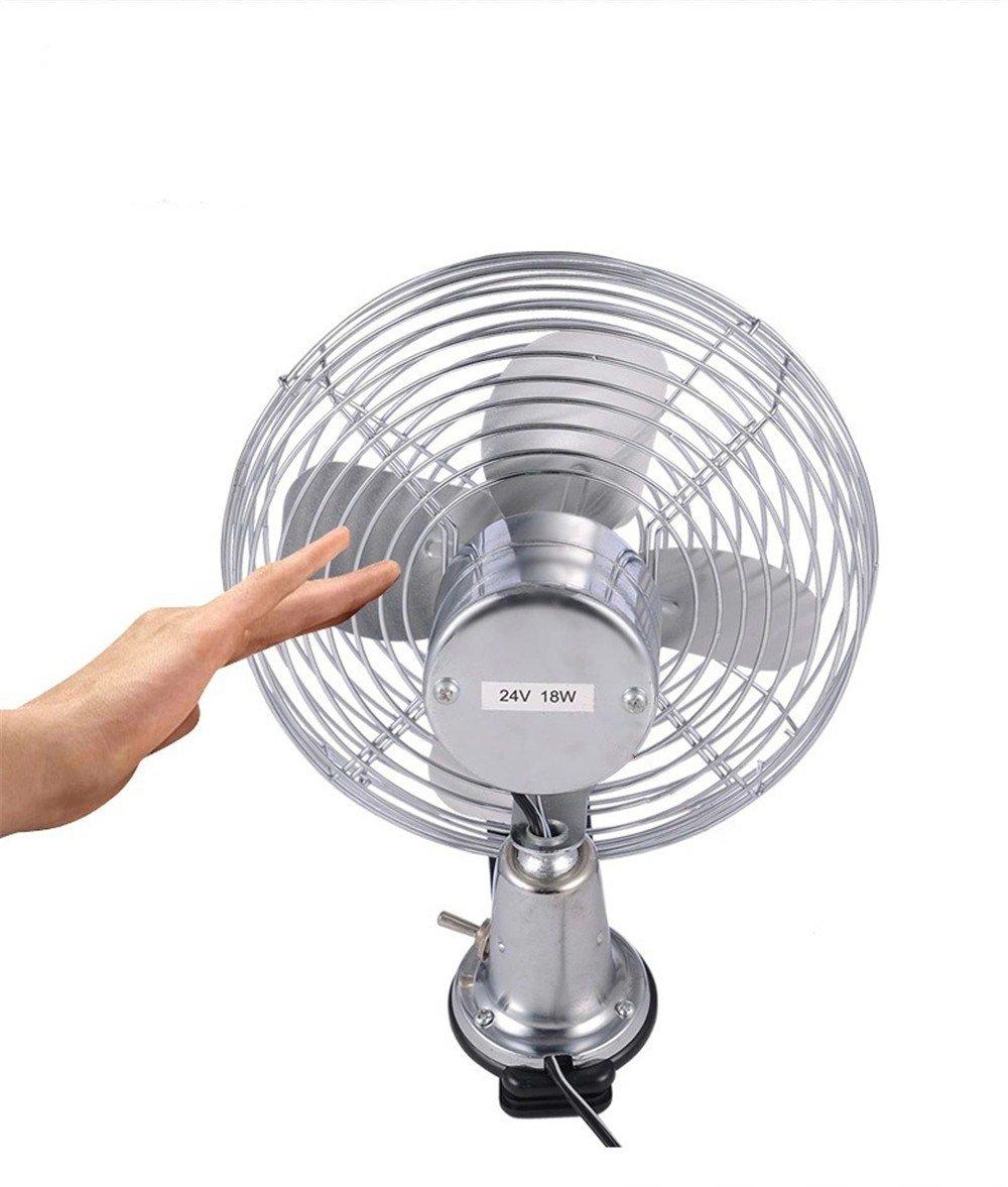 Ventilateur de voiture//12v//24v//voiture avec ventilateur//grand camion petit ventilateur//grand ventilateur de plafond vent 24V I