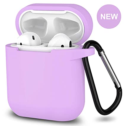 size 40 b422a 68afa 2019 Newest AirPods Case,360°Protective Silicone AirPods Accessories Kit  Compatiable with Apple AirPods 1st/2nd Charging Case[Not for Wireless ...
