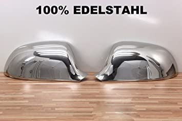 Chrom Spiegel Kappen EDELSTAHL