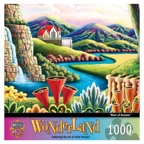 MasterPieces River of Dreams Jigsaw Puzzle, Art by Andy Russell, 1000-Piece