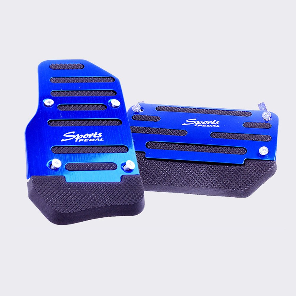Automotive Silver Ocamo Antiskid Foot Board Automobile Anti-Skid ...