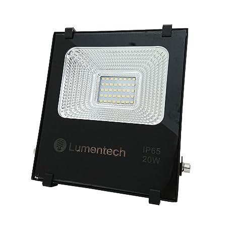 Lumentech LED foco de exterior, proyector LED resistente a agua ...