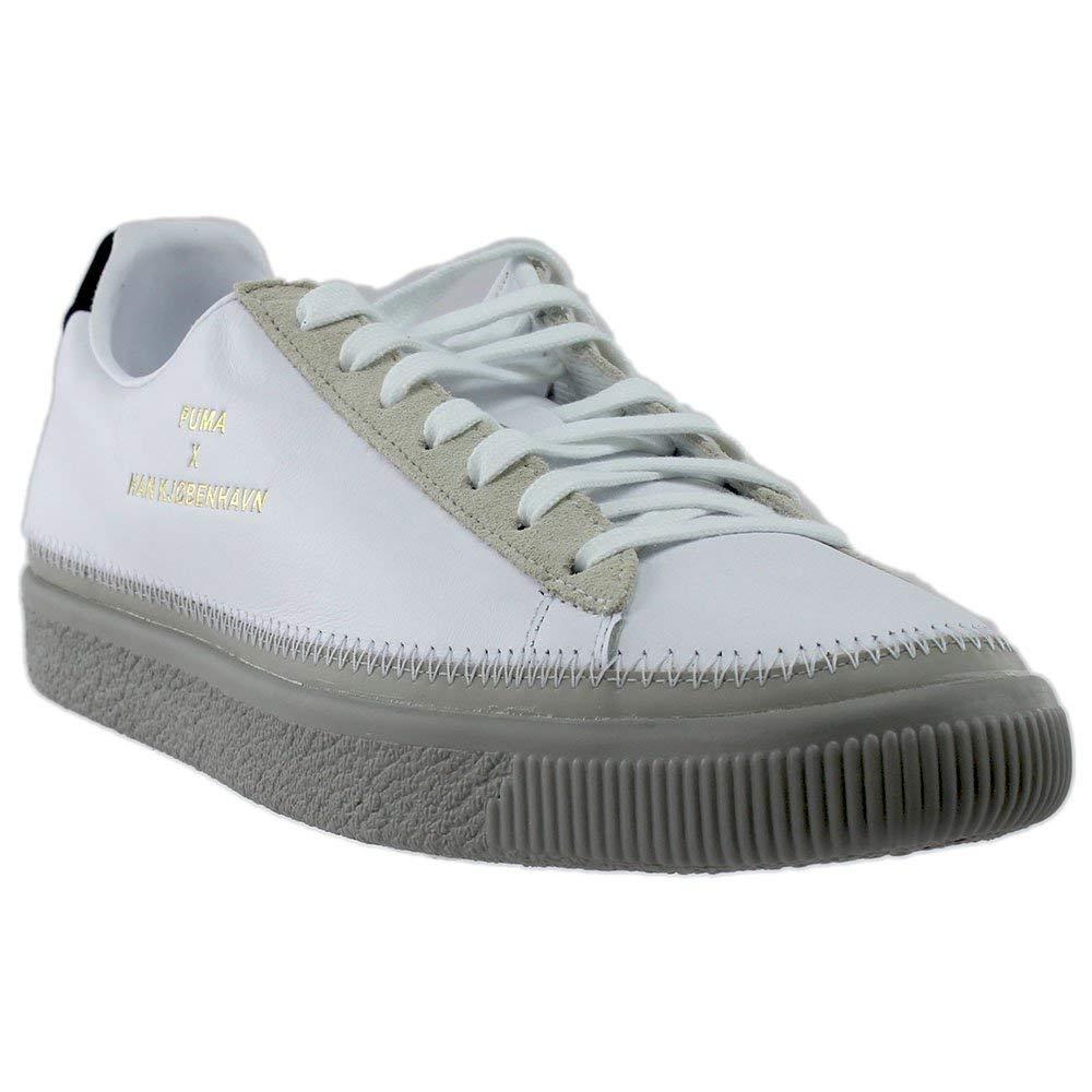 official photos 58510 aab49 PUMA Unisex x Han Kjobenhavn Basket Stitched Sneaker White ...