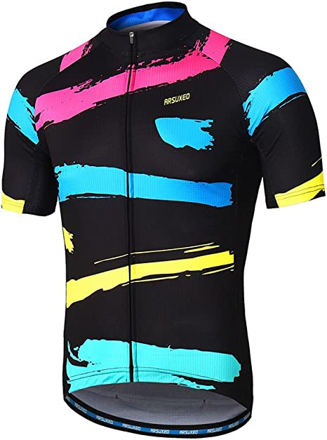 Bike Jersey Men/'s Cycling Jerseys Long Zipper Bicycle Shirt Jersey Maillots MTB