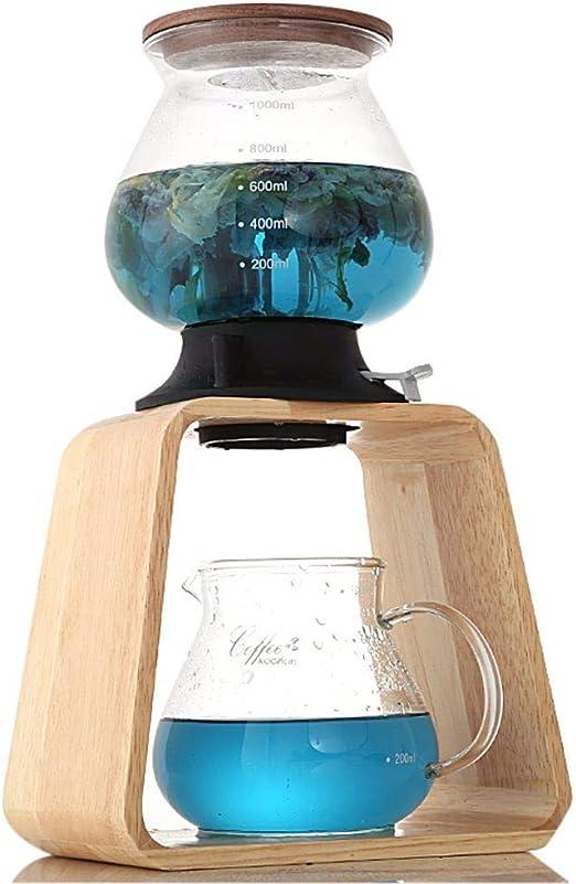 Liuxc Cafetera Torre de agua olla de té de burbujas, interruptor ...