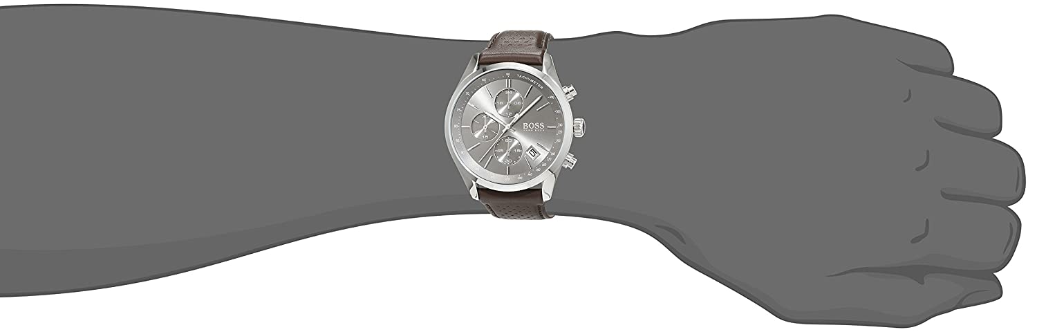 Amazon.com: Boss GRAND PRIX 1513476 Mens Chronograph Classic Design: Hugo Boss: Watches