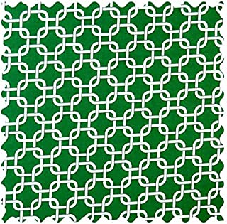 product image for SheetWorld Green Links Fabric - By The Yard