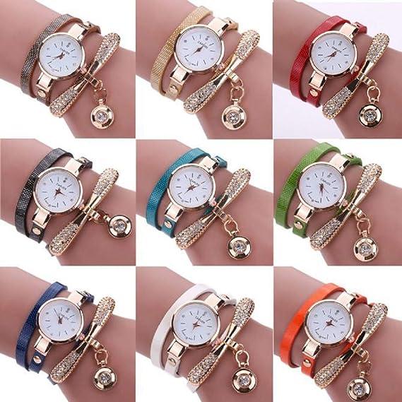 Luckycat Reloj de Cuarzo para Mujer Accesorios de Moda Reloj ...
