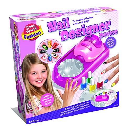 Small World Toys Fashion - Nail Designer Device Makeup Kit