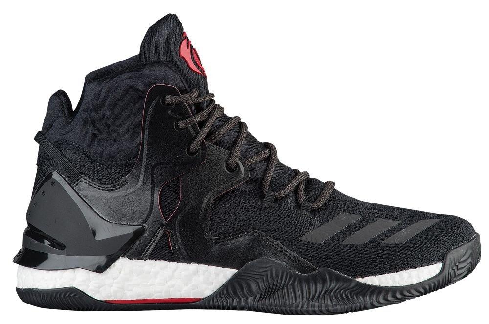 [アディダス] adidas D Rose 7 - メンズ バスケット [並行輸入品] B071FLV4ZT US12.5 Black/scarlet