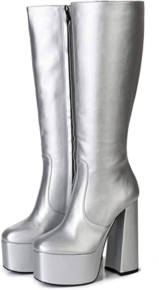 ELLIE TAILOR High Heel Stiefelette Stiefel Ankle Boots 42 43 44 45 46