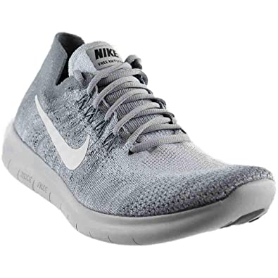 8d8f56e3cf8 Nike Mens Free RN Flyknit 2017 Running Shoe (14 D(M) US, Wolf  Grey/White-Anthracite)
