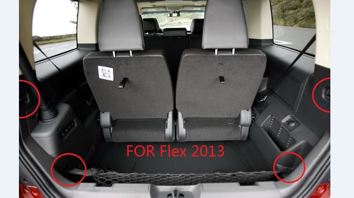 Cargo Net Nylon Rear Trunk for 2013 2014 2015 2016 2017 Ford Fusion Ford Flex 2018 Expedition by Kaungka Guangzhou Kai-long Auto Accessories Ltd.